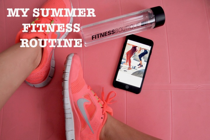 #SUMMERSPECIAL : MY SUMMER FITNESS ROUTINE